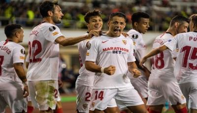 إشبيلية يحقق فوزًا خارج الديار في الدوري الأوروبي