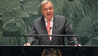إحاطة مرتقبة للأمين العام للأمم المتحدة بشأن مستجدات الأوضاع في اليمن