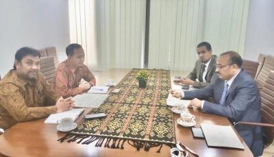 اليمن يطالب اندونيسيا تأييد القرار العربي الرافض لتجديد لجنة الخبراء الدوليين