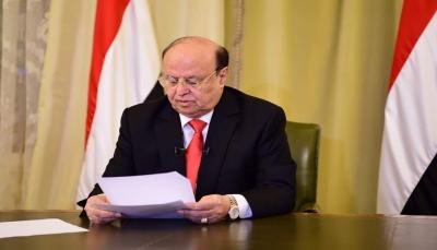 الرئيس هادي: جيل سبتمبر لن يقبل بعودة الظلمات مهما لبست الأزياء والشعارات