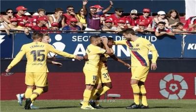 برشلونة يتلقى ضربة جديدة قبل مواجهة خيتافي