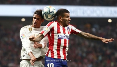 """ديربي مدريد ينتهي بالتعادل السلبي في """"الليجا"""""""