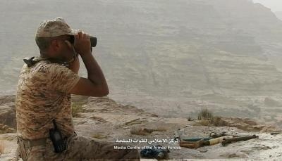 صعدة: الجيش يعلن تحرير عدد من المواقع في مديرية باقم