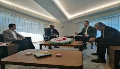 مباحثات يمنية - تركية لتعزيز سُبُل التعاون بين البلدين في القطاع السمكي