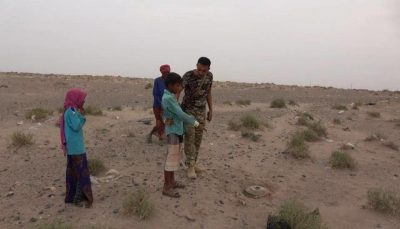 الحديدة.. مقتل وإصابة ستة أطفال بانفجار عبوة ناسفة زرعها الحوثيون