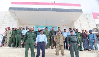 مدير شرطة سقطرى يتسلم إدارة الأمن ويباشر عمله