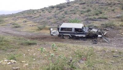 الضالع.. سقوط جرحى مدنيين بانفجار لغم أرضي زرعه الحوثيون غرب قعطبة