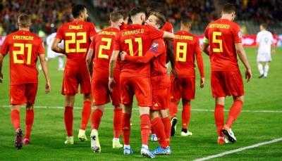 بفوز كاسح على سان مارينو.. بلجيكا أول المتأهلين إلى يورو 2020