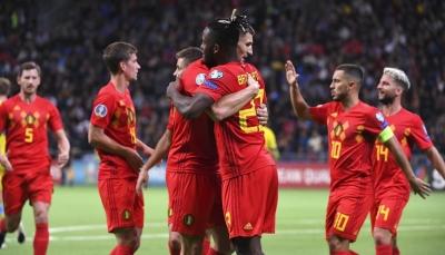 بلجيكا تحقق الفوز الثامن على التوالي للمرة الأولى