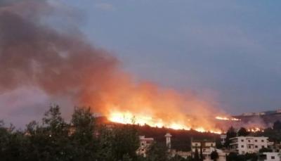 سقوط أول ضحيتين في حرائق تجتاح لبنان ووزراء يطلبون المساعدة من الدول (فيديو)