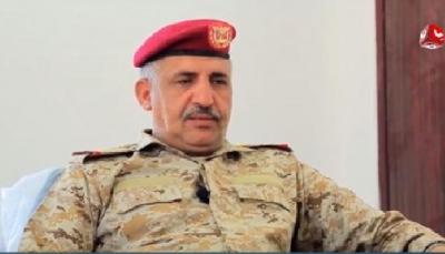 """اللواء الذيباني يكشف  لـ""""يمن شباب"""" كيف واجه الجيش خطط الإمارات لإسقاط الرئاسة وتمزيق اليمن؟"""
