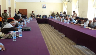 الميسري يدعو التحالف للمساعدة في إعادة الاستثمارات النفطية والبحرية في اليمن