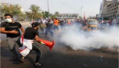 75 قتيل من المحتجين خلال ثلاثة أيام في عدد من المدن العراقية