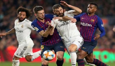 برشلونة وريال مدريد يعودان للمنافسة بهدف استعادة الريادة في الليجا