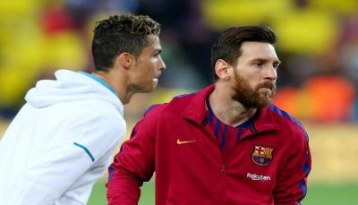 رونالدو: التنافس مع ميسي جعلني أفضل لاعب في العالم