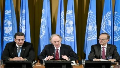 """سوريا: الحكومة والمعارضة تفتتحان محادثات """"تاريخية"""" لمراجعة الدستور"""