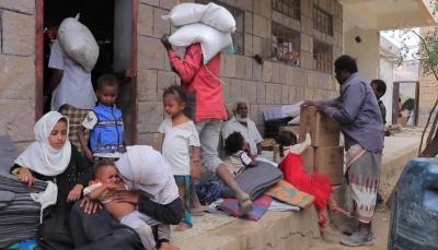 الصليب الأحمر: معارك الضالع تسببت بنزوح أكثر من 65 ألف خلال العام الجاري