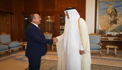 """تركيا تشكر أمير قطر على دعم عملية """"نبع السلام"""" في شمال سوريا"""