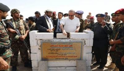 """وزير الداخلية يعلن تأسيس مركز تدريب أمني لتأهيل الضباط في اقليم سبأ بـ""""مأرب"""""""