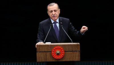 الرئيس التركي يعلن القبض على أرملة زعيم داعش السابق