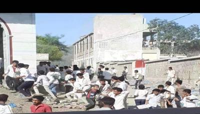 """تعز: إصابة ثلاثة طلاب بنيران ميليشيا """"أبو العباس"""" في المعافر"""