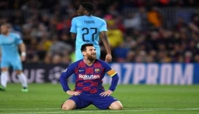برشلونة يسقط في فخ التعادل على أرضه أمام سلافيا براج
