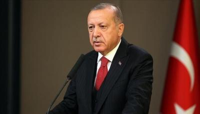 """أردوغان: نجل """"أبو بكر البغدادي"""" من بين أفراد أسرته الموقوفين في تركيا"""