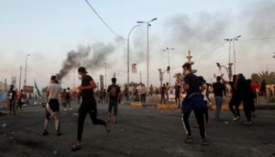 رغم القمع ورصاص الشرطة الحي.. الآلاف يعاودون التظاهر في المدن العراقية