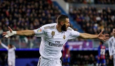 ريال مدريد يستعرض قوته ويسحق إيبار برباعية