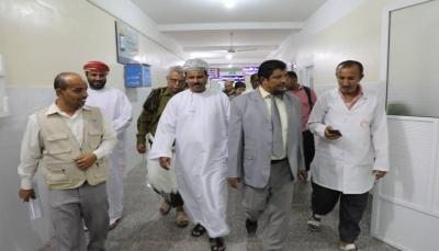 """وفد عماني يصل """"المهرة"""" ويؤكد دعم ومساندة القطاع الصحي في المحافظة"""