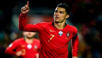 رونالدو يقترب من تسجيل هدفه الـ100 دولياً