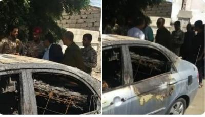 عدن: مسلحون مجهولون يقتلون شخص ويحرقون جثته في خور مكسر