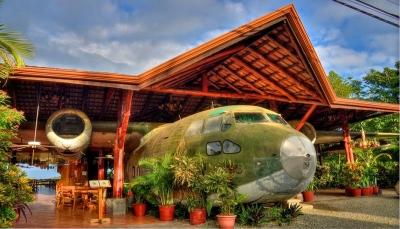 تعرف على سبع طائرات قديمة تحولت إلى مطاعم (فيديو)