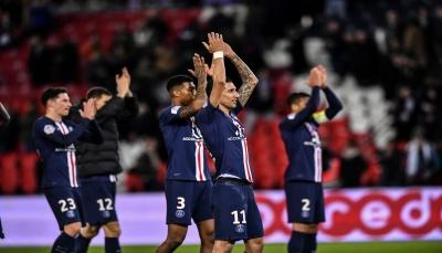 باريس سان جيرمان يستعد لريال مدريد بهزيمة ليل بثنائية