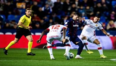 ليفانتي يهزم ريال مايوركا بالدوري الإسباني
