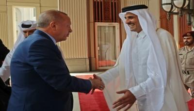 خلال زيارته إلى قطر.. إردوغان يدعو لإنهاء الأزمة الخليجية بأسرع وقت