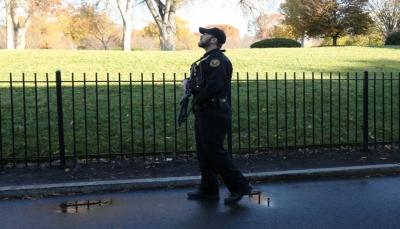 """""""طائرة مجهولة"""" تتسبب في إغلاق البيت الأبيض وانطلاق مقاتلات بسماء واشنطن"""