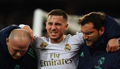 ريال مدريد يؤكد أن إصابة هازارد ليست خطرة