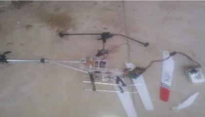 """الجيش الوطني يسقط طائرة مسيّرة حوثية بمنطقة """"كلابة"""" شرقي تعز"""