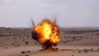 إتلاف كمية من الألغام والمتفجرات التي زرعتها ميليشيا الحوثي بالجوف