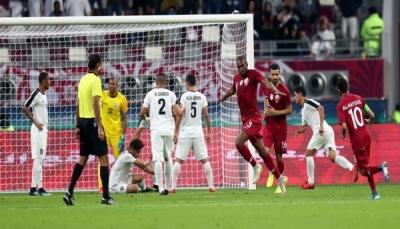 منتخبنا الوطني يتعرض لهزيمة ثقيلة من قطر