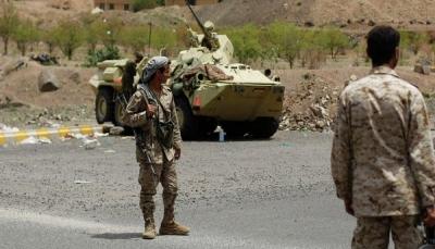 قتلى وجرحى حوثيين بقصف مدفعي للجيش غرب تعز