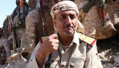 """تعز: إصابة العميد """"عدنان الحمادي"""" بطلق ناري جنوب المدينة"""