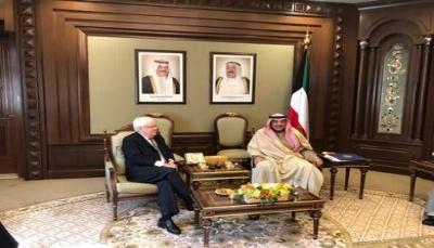 غريفيت يصل الكويت وسط أنباء عن جولة مفاوضات جديدة الشهر القادم