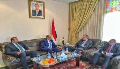 """الميسري يلتقي السفير الفرنسي في مسقط ويقول: """"حريصون على إنجاح اتفاق الرياض"""""""