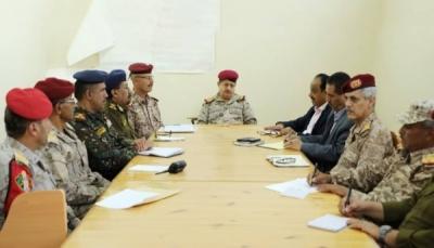 وزير الدفاع يترأس اجتماعاً لأمنية مأرب ويشدد على تعزيز الأمن في المحافظات المحررة