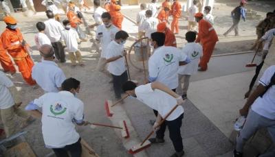مأرب تحيي اليوم العالمي للنظافة بحملة واسعة