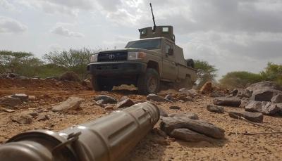 القوات الحكومية تحبط هجوماً لمليشيات الحوثي غربي الضالع