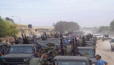 """تعزيزات عسكرية ضخمة.. و""""الزنتان"""" سابع مدينة ليبية تعلن النفير دفاعا عن طرابلس"""