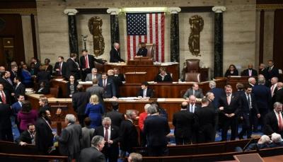 مجلس النواب الأمريكي يوافق بالأغلبية على عزل ترامب من الرئاسة